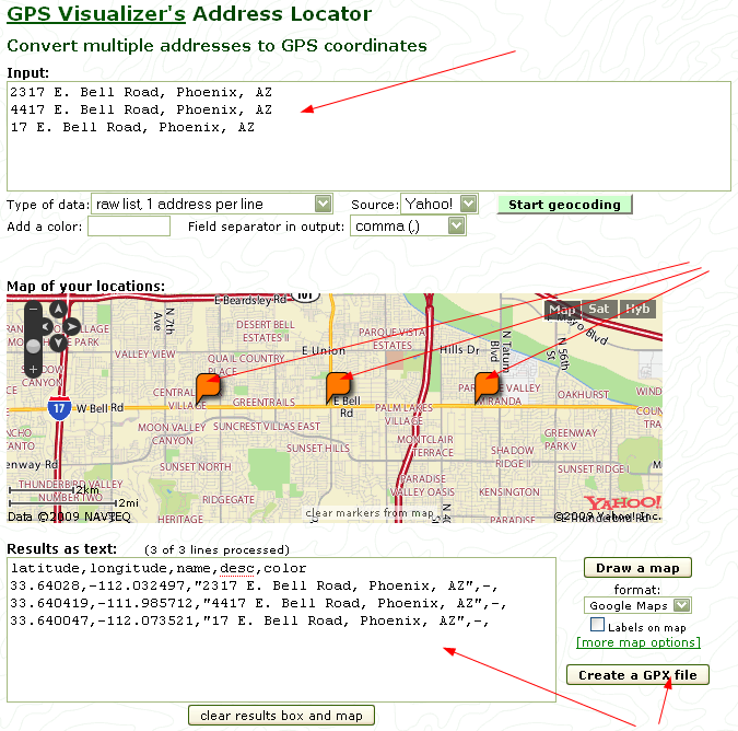 Quick Tool Review – GPS Visualizer (online) | Coding Tools